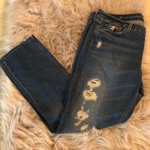 J. Crew Jeans✨Distressed Vintage Matchstick Jeans
